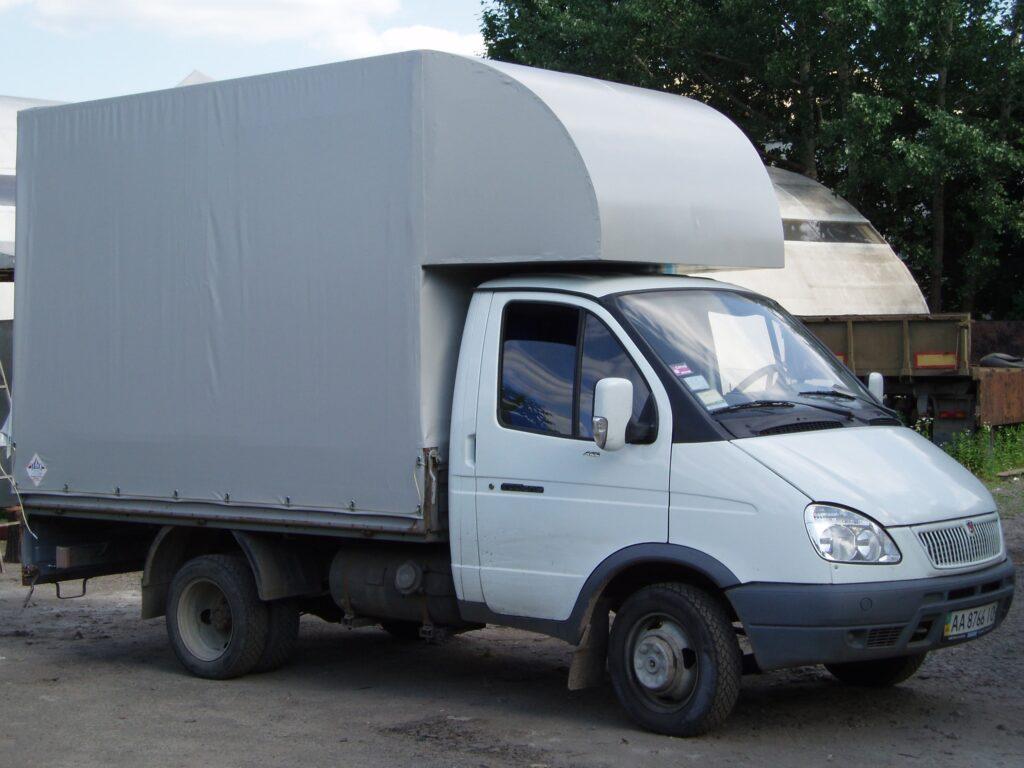 тенты на грузовые авто