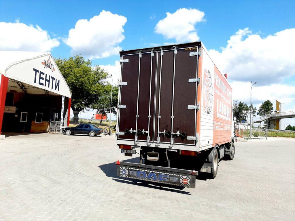 изготовление ворот для грузовиков
