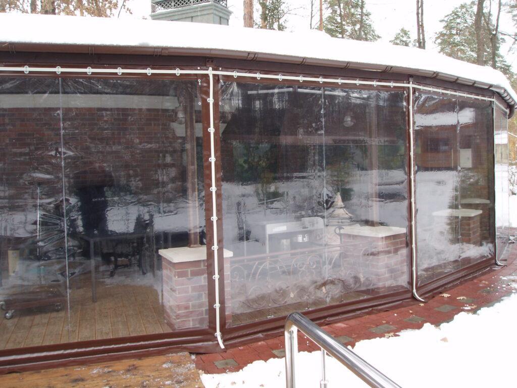 Мягкие ПВХ окна